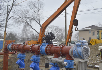 Pumping Station Construction 